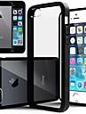아이폰 5 / 5S에 대한 매우 투명 백 커버 케이스 (모듬 색상)