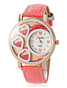 Women's Love Rolling Beads PU Band Quartz Fashion Watch (Assorted Colors) Cool Watches Unique Watches
