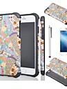 Pour Coque iPhone 6 / Coques iPhone 6 Plus Antichoc / Motif Coque Coque Arriere Coque Forme Geometrique Flexible TPUiPhone 6s Plus/6 Plus