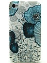 Lotus Leaf Pattern TPU Soft Case for iPhone 4/4S