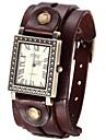 Mulheres Relógio de Moda Quartz Couro Banda Relógio de Pulso Preta / Branco / Azul / Vermelho / Marrom / Verde