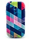 Pour Samsung Galaxy Coque Motif Coque Coque Arrière Coque Forme Géométrique PUT pour Samsung S3 Mini