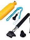 Accessoires GoPro Fixation / Monopied / Poignees Pour Gopro Hero 1 / Gopro Hero 2 / Gopro Hero 3 / Gopro Hero 3+ / SJCAM noir / jaune