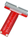 Type-T GPIO Expansion Board Accessory for Raspberry Pi B+ - Red