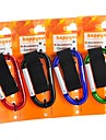 8mm Carabiner With Strap/Keyring Quick Release Keychain Buckle Hanging
