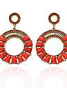 Women\'s Fashion  Vintage  Circle Diamante Earrings(More Colors)