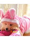 Perros Abrigos / Sueteres / Saco y Capucha / Ropa / Ropa Rosado Primavera/Otono Animal / Caricaturas Cosplay