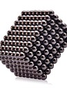 Buckyball Magnet Toys 341Pcs 5mm Executive Toys Magic Magnet DIY Balls Magnetic Balls Cube Puzzle Black