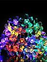 50 lampada com serie de lampada solar, flor de pessego (cores sortidas)