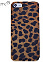 Leopard Grain Polycarbonate Back Case for iPhone 5/5S
