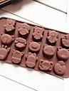 Moule de Cuisson Animal Pour Gateau Pour Cupcake Pour Tarte Silikon Bricolage Ecologique Papier a cuire