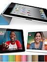 iPadの空気のためのDFは純粋な色のオートスリープ/ウェイクアップPU折りたたみカバー(アソートカラー)