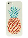 cas dur d'un motif d'ananas pour iphone4 / 4s