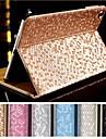 df / réveil cuir PU de sommeil souper de luxe glissement strass entièrement automatique boîtier de corps pour iPad 2/3/4 (couleurs