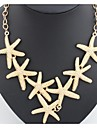 Golden / Silver Statement Necklaces Alloy Wedding / Party / Daily / Casual Jewelry