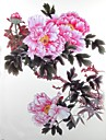 1 개 방수 대형 핑크 패턴 문신 스티커를 백업 장미