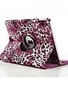 PU de haute qualite en cuir imprime leopard de spin cas de corps entier pour l\'ipad 2 air (couleurs assorties)