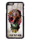 """crane personnalise de cas et de fleurs cas design en metal pour iPhone 6 (4.7 """")"""