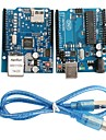 UNO R3 Board Module + Ethernet Shield W5100 Module for Arduino