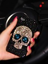 LADY The Skull Style  with Diamond Frame for iPhone 6 Plus