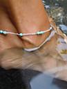 Eruner®Elegant Womens Bead Charm Metal Chain Anklet Bracelet Foot Sandal Beach Jewelry