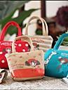 искусства ткани сумки в форме кошелек телефон кошелек (случайный цвет)