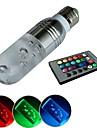jiawen® E27 3W RGB 16 цветов кристалл светодиодные лампы с пульта ДУ (AC 100-220V)