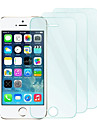 3pack 0.26mm gehard glas screen protector met microfiber doekje voor iPhone 5 / 5s / 5c