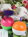 Cat Pet Toys Interactive / Mouse Toy Bell Random Color Plastic
