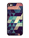 Colorful Triangle Design Aluminium Hard Case for iPhone 5/5S