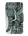 For Huawei Case / P8 / P8 Lite Flip Case Full Body Case Elephant Hard PU Leather HuaweiHuawei P8 / Huawei P8 Lite / Huawei P7 / Huawei