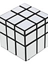 Shengshou® Magic Cube 3*3*3 Mirror / Speed Smooth Speed Cube Black ABS Toys