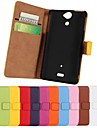 Kemile High Quality Wallet Deign Magnetic Holter Flip Leather Cover for ony Xperia V LT25i