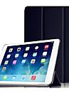 Para Com Suporte / Hibernacao/Ligar Automatico / Origami Capinha Corpo Inteiro Capinha Cor Unica Rigida PC Apple iPad Air