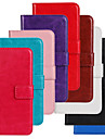 For Samsung Galaxy Case Card Holder / with Stand / Flip Case Full Body Case Solid Color PU Leather Samsung Trend Lite