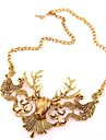 Necklace Vintage Necklaces Jewelry Daily / Casual Fashion Alloy Coppery 1pc Gift