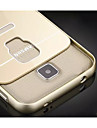 For Samsung Galaxy Case Shockproof Case Back Cover Case Solid Color Acrylic Samsung S5