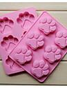 Мода силиконовой 6 отверстий для кошек когти форма торта выпечки форму мыло шоколад кухня приготовления инструменты десерта еды решений
