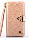 Для Samsung Galaxy Note Кошелек / Бумажник для карт / со стендом / Флип Кейс для Чехол Кейс для Сияние и блеск Искусственная кожа Samsung