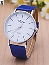 Women's Fashion Diamond Vintage Quartz Analog Leather Print Wrist Watch(Assorted Colors) Cool Watches Unique Watches