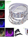 5M 300x5050 SMD RGB 72W Light LED Strip Lamp + 24-Key Controller +EU Plug Power Supply Adapter AC100-240V