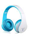 kg-5012 multifuncion sonido estereo de auriculares bluetooth inalambricos plegables con soporte para tarjetas de memoria, fm
