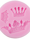Bakeware Silicone Crown Baking Molds for Fondant Candy Chocolate Cake