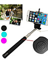 лучшие продажи кабель взятие полюса выдвижной selfie ручной монопод Держатель палки для Iphone 5 / 5S / 6/6 + (ассорти цветов)