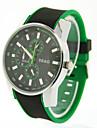 Men\'s Sports Silicone Band Quartz watch Cool Watch Unique Watch Fashion Watch