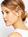 European Style Fashion Wild Gold Pearl Hairpin