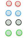 силиконовые серебристых крышка Стик Джойстик для playstation4 ps2 ps3 PS4 Xbox 360 контроллер одной (2 шт)