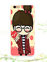 Pour Coque iPhone 5 Motif Coque Coque Arriere Coque Dessin Anime Flexible TPU iPhone SE/5s/5
