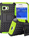 For Samsung Galaxy Case Shockproof / with Stand Case Back Cover Case Armor PC Samsung Young 2 / Grand Prime