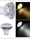 5W GU10 / GU5.3(MR16) Faretti LED MR16 LED ad alta intesita 350-400 lm Bianco caldo / Luce fredda Intensita regolabileAC 220-240 / AC